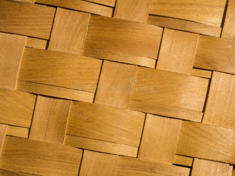 Wicker pattern, basket texture, braiding backdrop royalty free stock photos