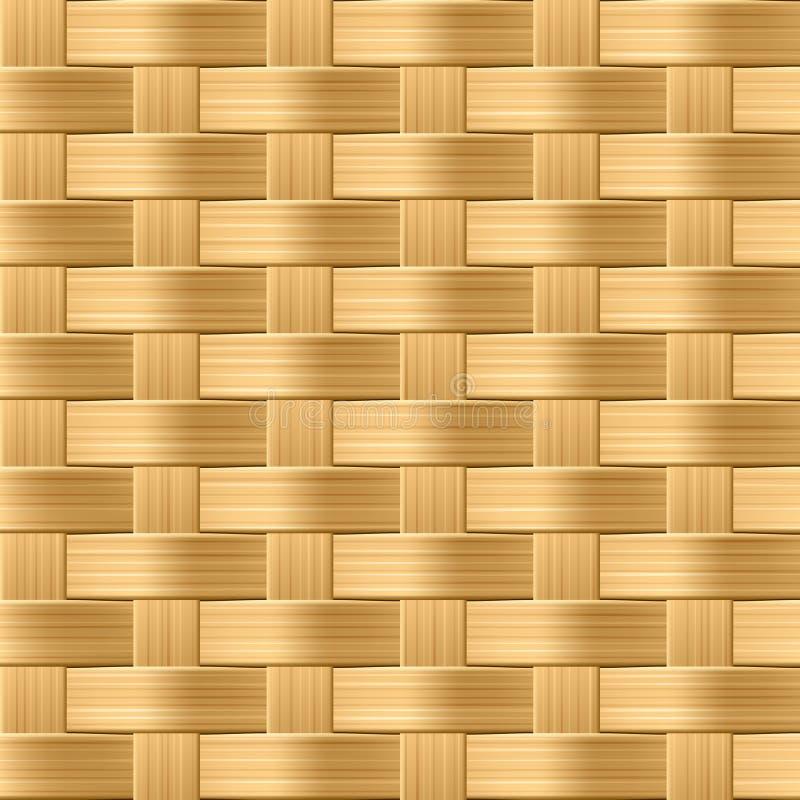 Wicker pattern. Seamless pattern.