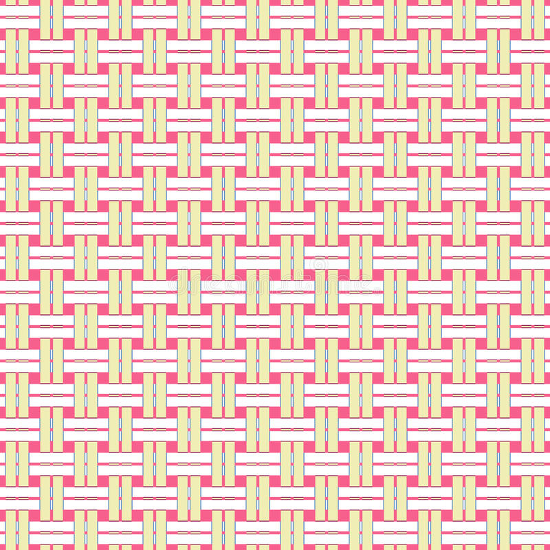 Download Wicker Seamless Pattern stock vector. Image of fiber - 25462171