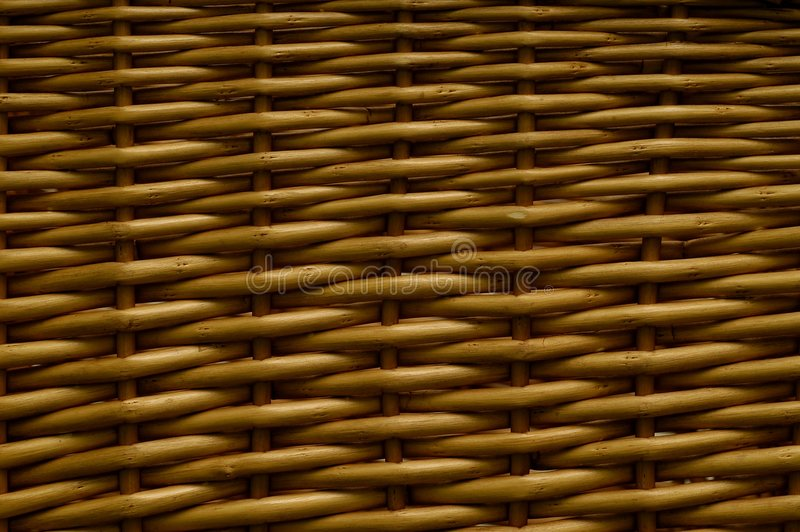 Wicker texture royalty free stock images