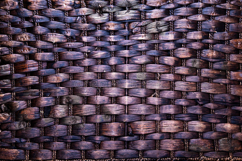 Wicker Texture Background Royalty Free Stock Image