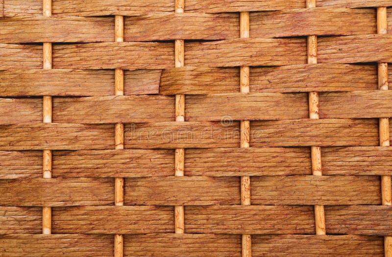 Wicker texture royalty free stock photo