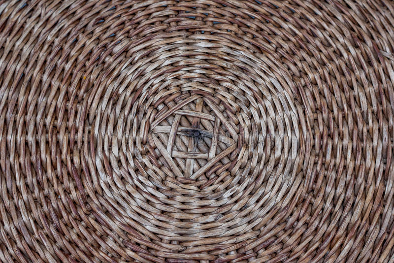 Wicker textured royalty free stock images