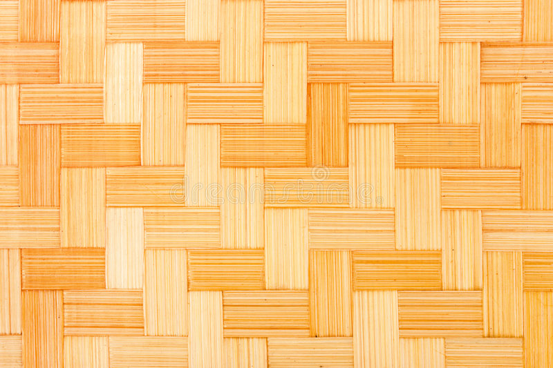Wicker wood background stock image