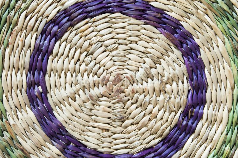 Wickerwork with circles. Of colors for funds, textures or graphical design stock photos