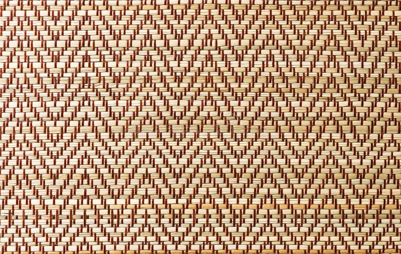 Wickerwork pattern. Weave of the traditional thai wickerwork pattern stock photo