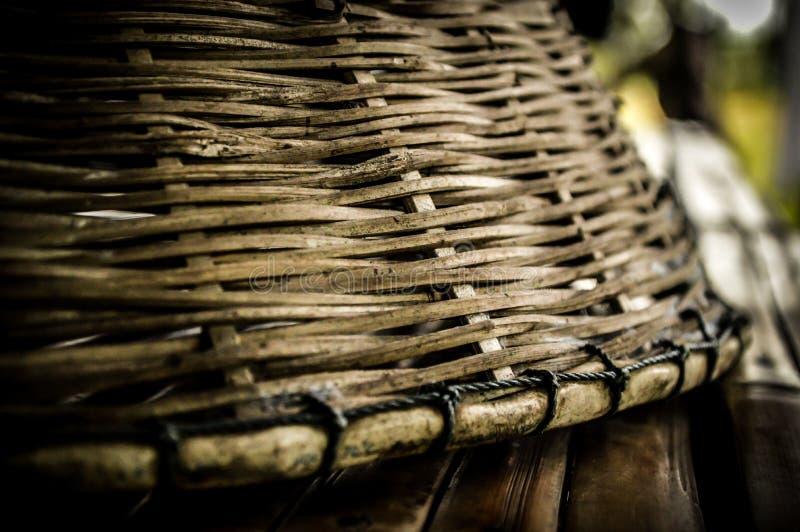 Wickerwork of villagers in Thailand. Wickerwork of villagers in countryside Thailand stock photography