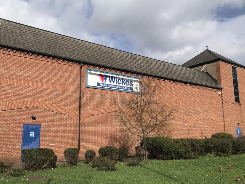 Wickes store. Wickes is a British home improvement retailer and garden centre, based in the United Kingdom and owned by Travis Perkins, with more than 230 stores stock photography