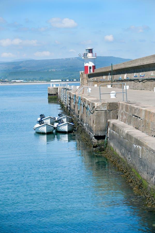 Wicklow λιμάνι στοκ φωτογραφίες