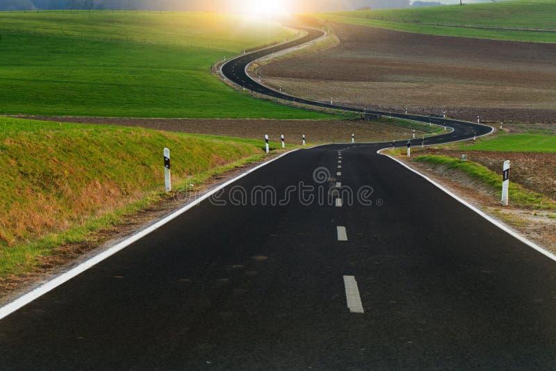 Wicklung-weiter Weg stockbild