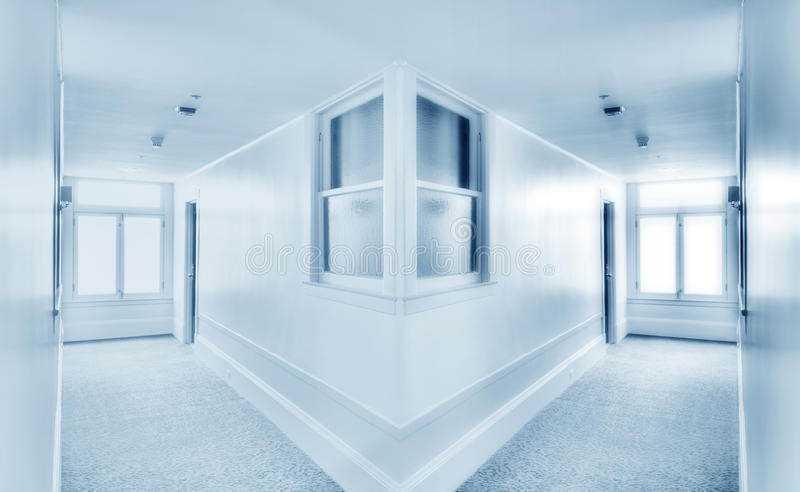 Wide Angle. Image of Corner royalty free stock photography
