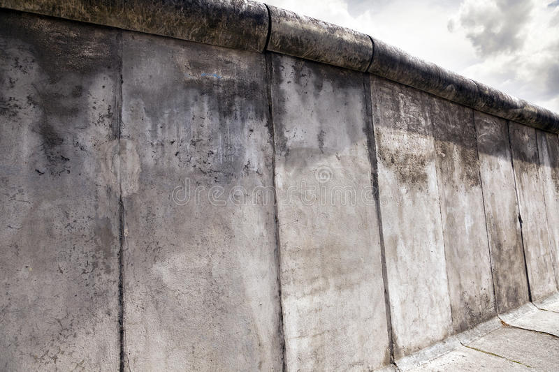 East-West Berlin Original Wall Section royalty free stock images