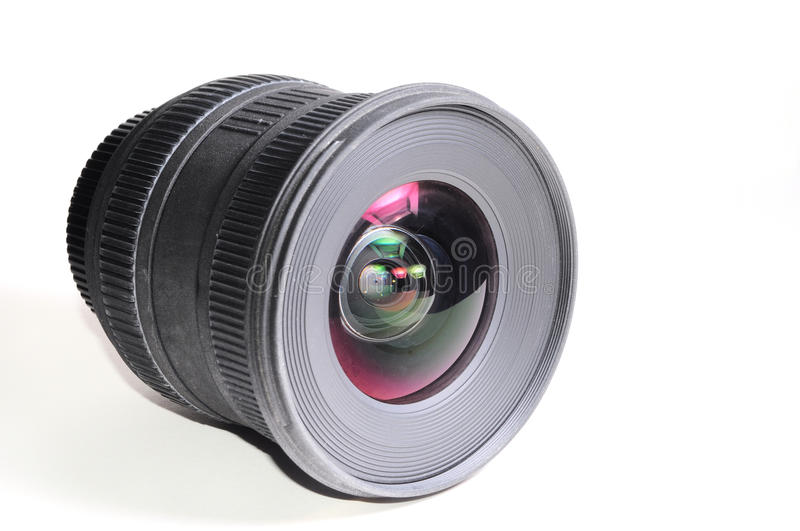 Wide Angle Lens Stock Photo