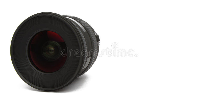 Download Wide Angle Lens On White Background Stock Photo - Image: 8377136