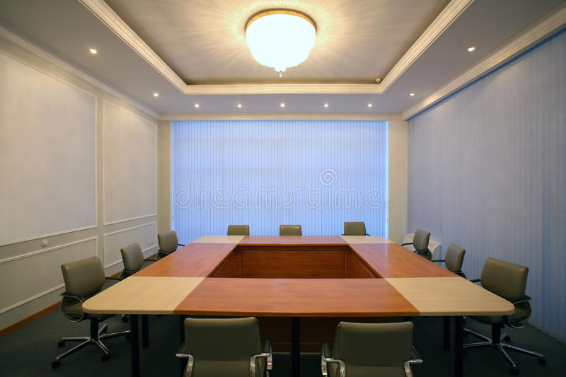 Download Wide Angle Shot Of Empty Meeting Conference Room Royalty Free Stock Photos - Image: 16109618