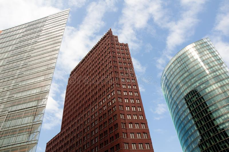 Download Wide-angle Shot Of Skyscrapers Stock Photo - Image: 5120292