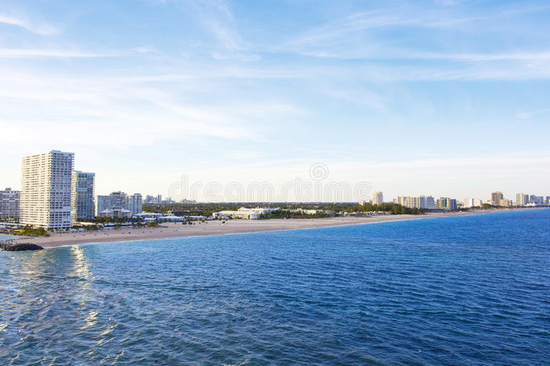 Download Fort Lauderdale Florida Shoreline Stock Photo - Image: 29928106