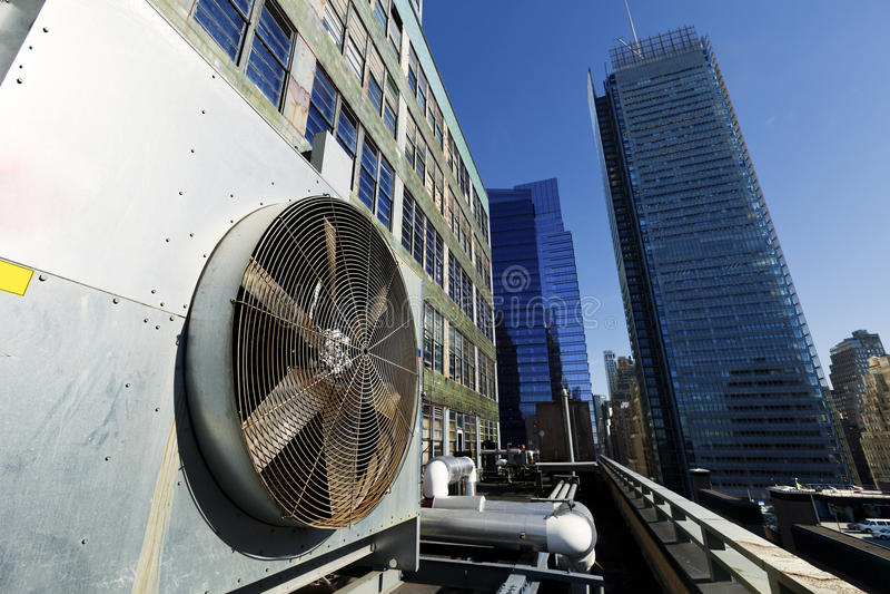 Download Urban HVAC Air Contidioner Outdoor Unit Manhattan New-York Stock Photo - Image: 29759450