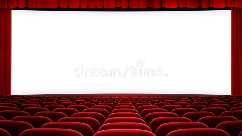 Wide Cinema Screen Backgound Aspect Ratio 16 9 Stock