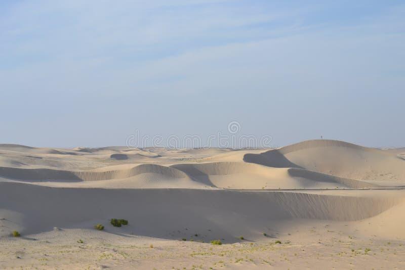 Wide desert stock photo
