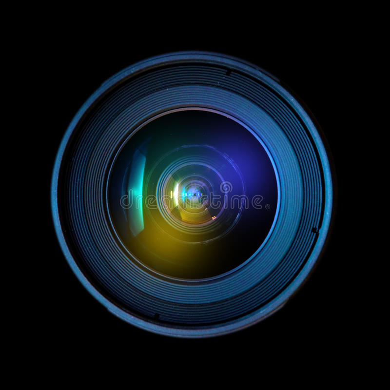 Wide DSLR Lens Stock Photography