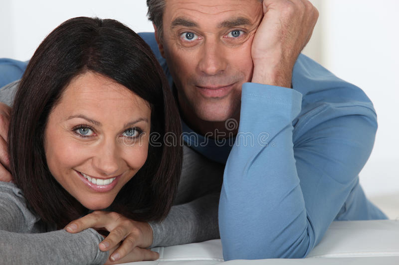 Download Wide-eyed couple stock image. Image of enthusiasm, caucasians - 28298287