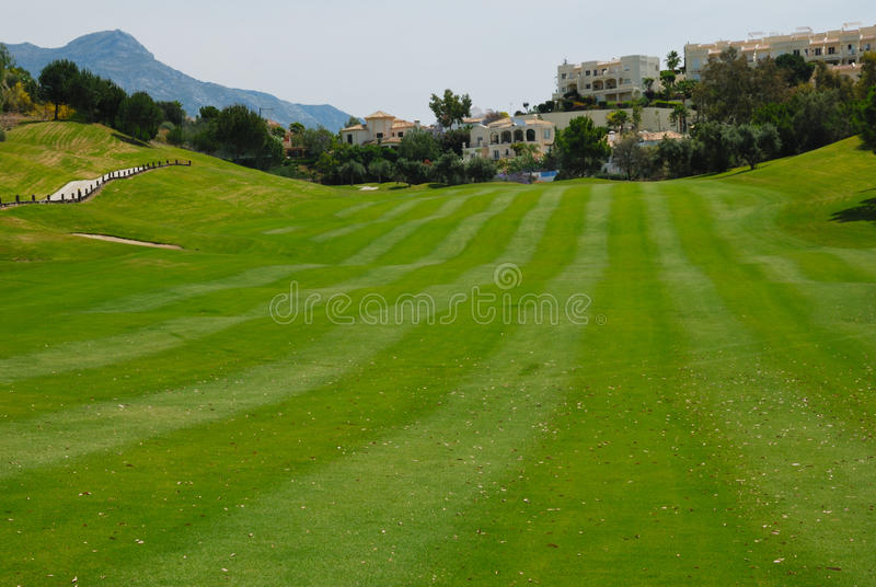 Download Wide fairway stock image. Image of resort, andalusia - 25279685