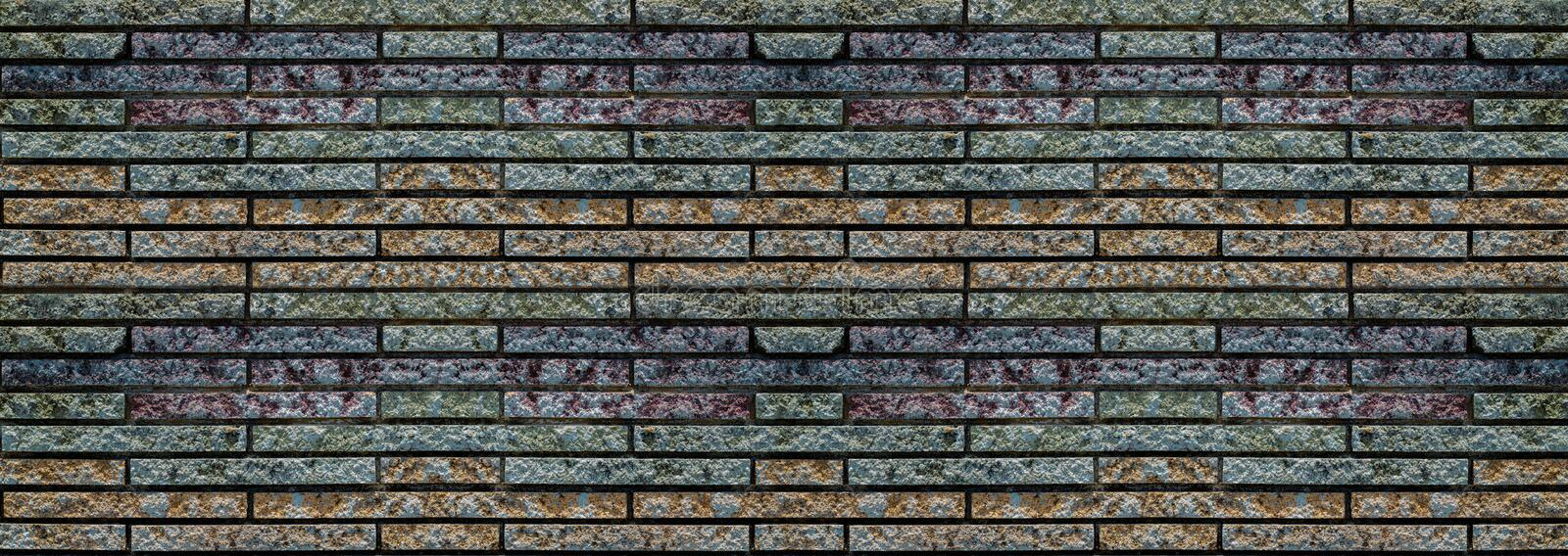 Wide old brick wall , vintage brick wall  in a background image. Wide old brick wall pattern, vintage brick wall  in a background image stock photos