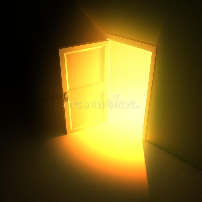 wide open doors. Download Wide Open Door Light Stock Illustration. Illustration Of Unknown - 6145010 Doors 0