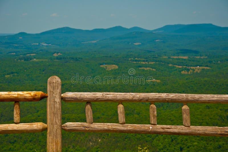 Wide Open Ozark Mountains overlook Arkansas royalty free stock images