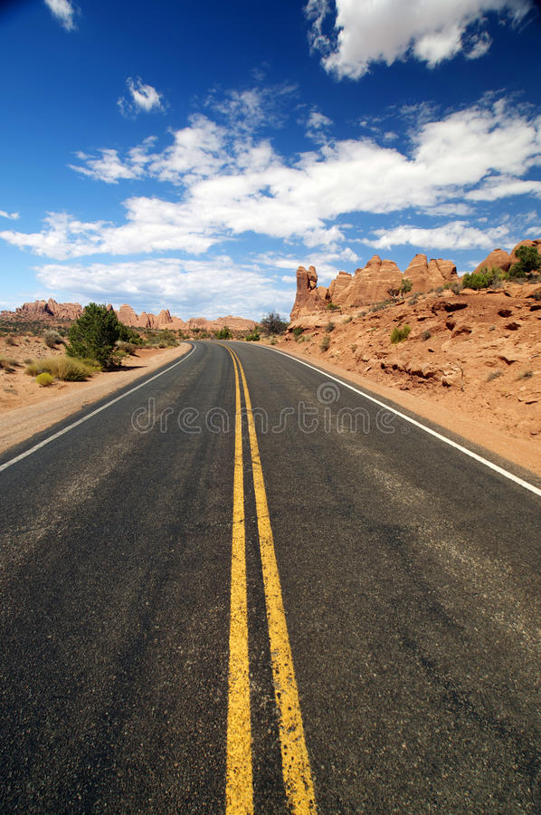 Wide Open Road Stock Photo Image Of Asphalt Rural