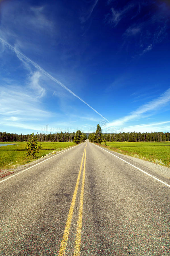 Free Wide Open Road Stock Photography - 12452452