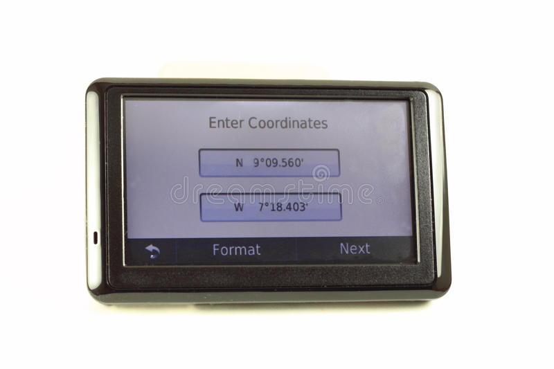 Download GPS Navigation Screen stock photo. Image of screen, surveillance - 28846512