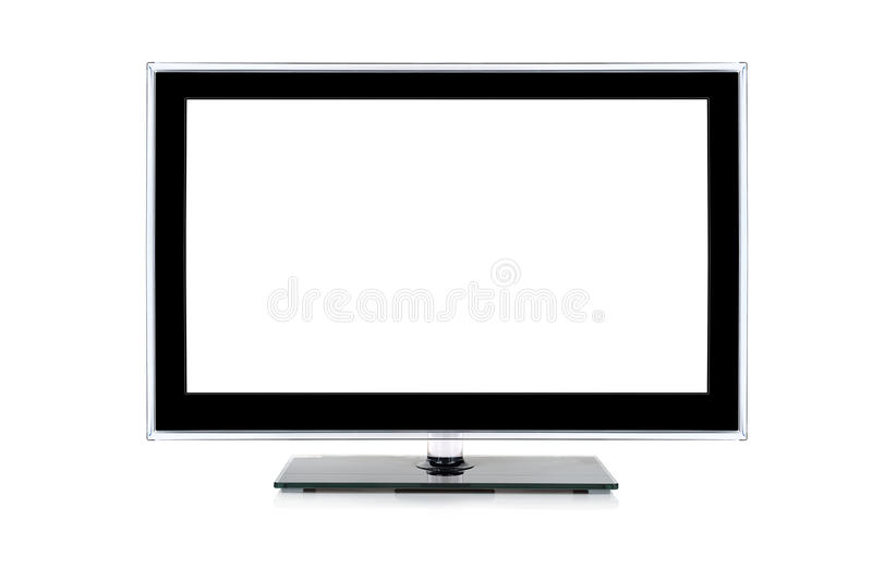 Wide screen monitor. Or computer royalty free stock photos