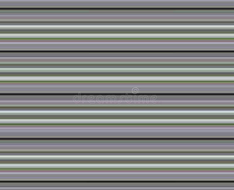 Wide Striped Purple Green Black Background royalty free illustration