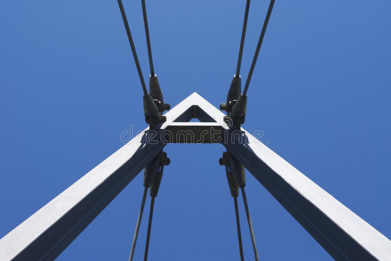 Wide Suspension A royalty free stock photo