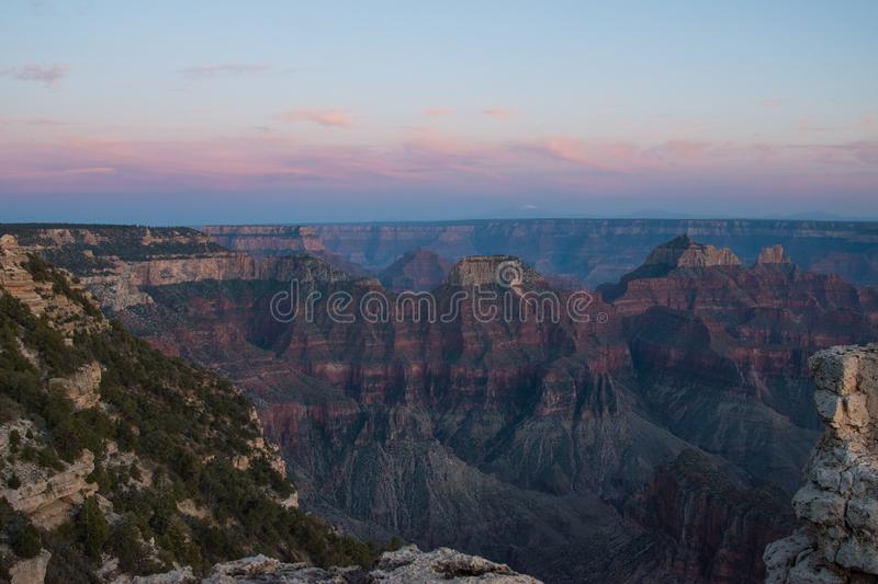 Wide View of Canyons during Daytime stock images
