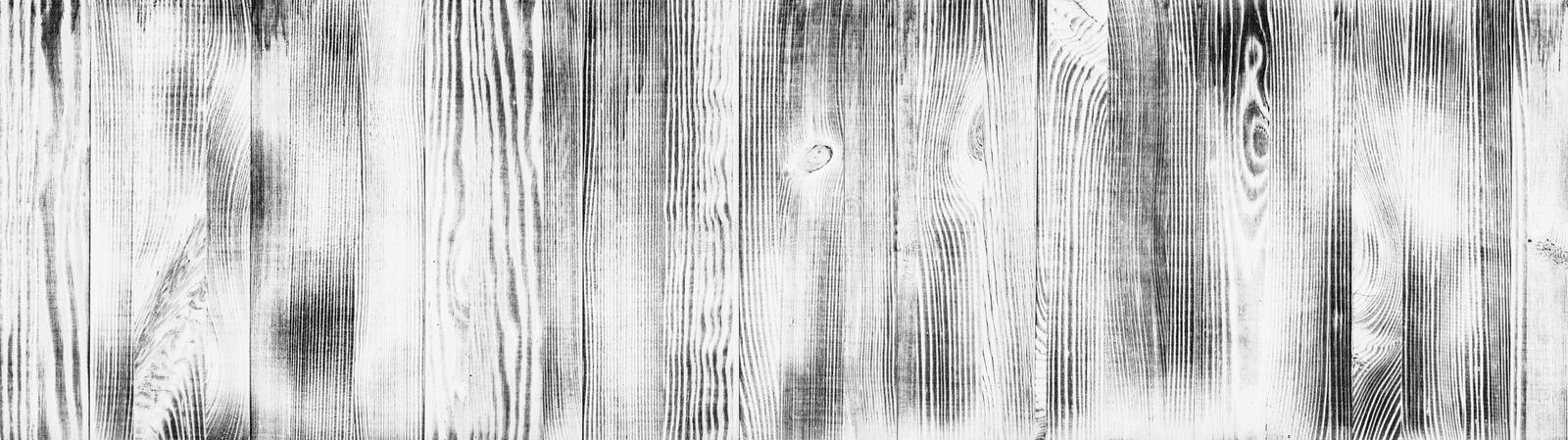 Wide whitewashed wood texture. Widescreen wooden pattern. Shabby chic panoramic vintage background. Wide white washed wood texture. Widescreen wooden pattern royalty free stock images