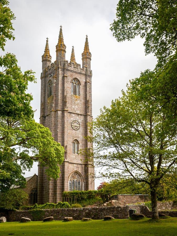 Widecombe w cumującym Dartmoor obrazy stock