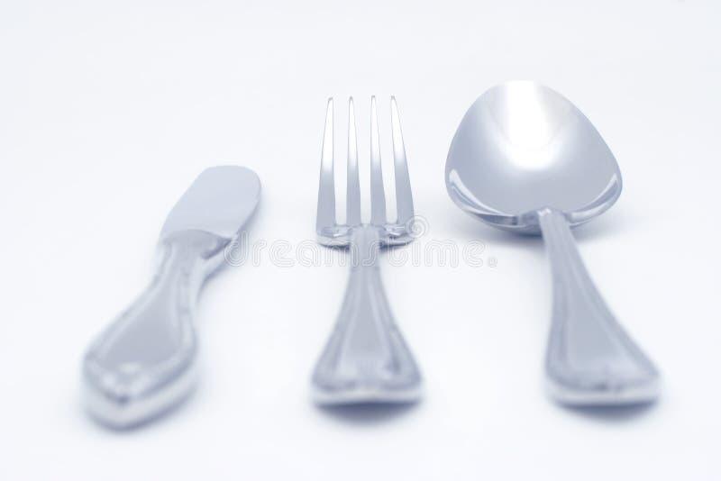 widelec noża spoon zdjęcie royalty free