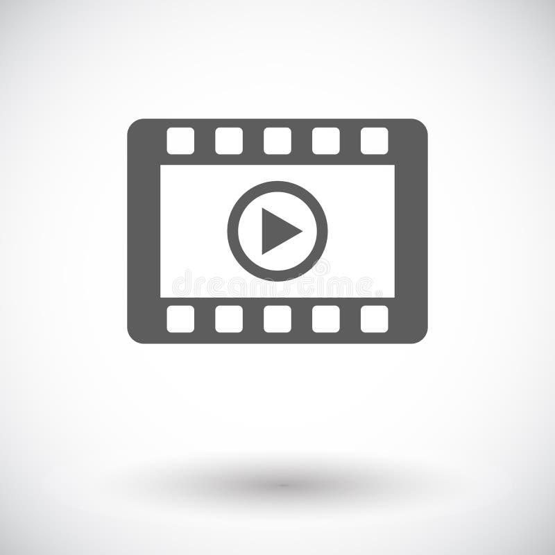 Wideo ikona ilustracja wektor