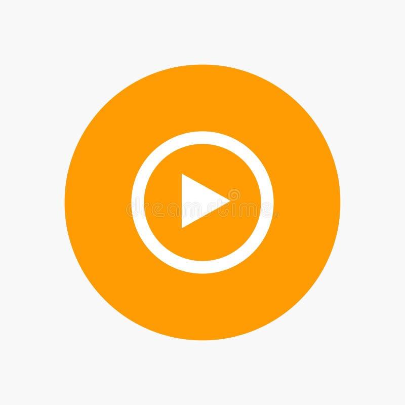 Wideo, interfejs, sztuka, użytkownik royalty ilustracja