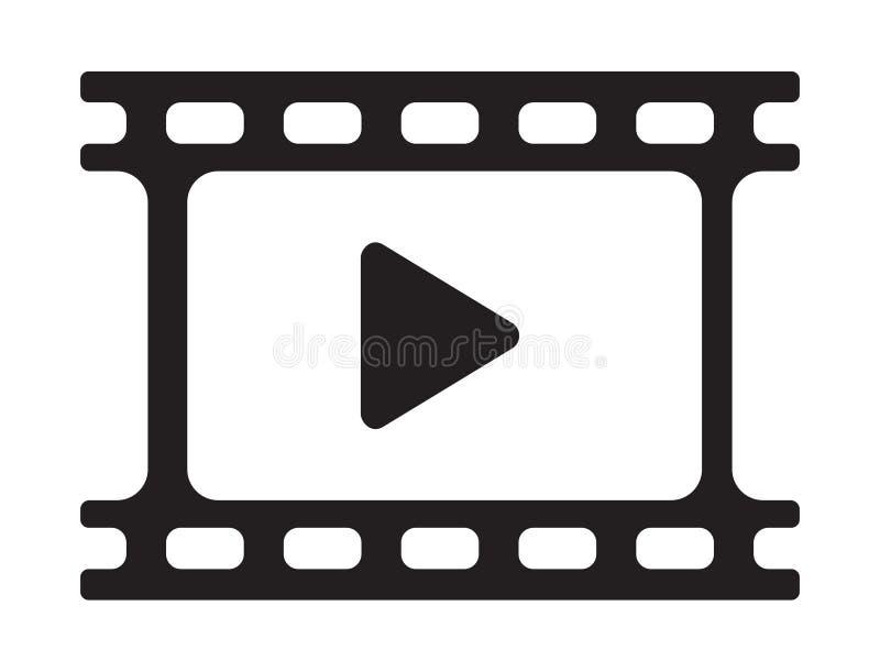 Wideo sztuki ikona ilustracja wektor