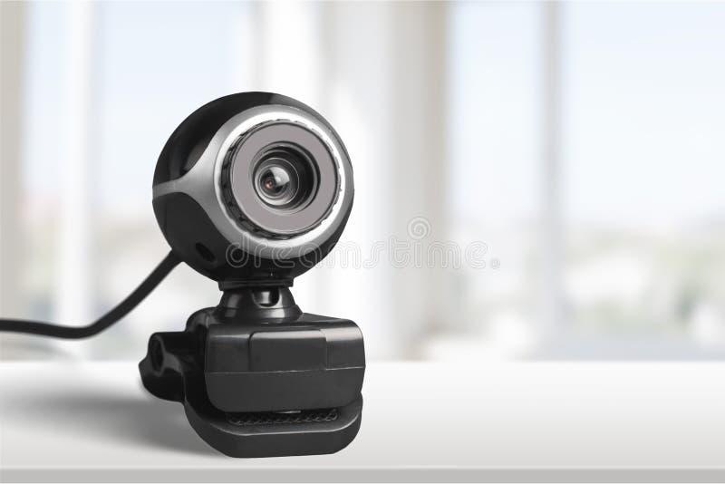 Wideokonferencja kamera zdjęcie royalty free