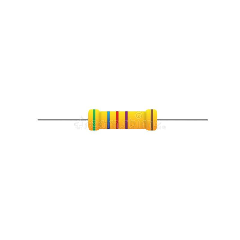 Widerstand vektor abbildung. Illustration von symbol - 83737180