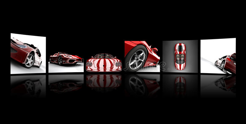 Download Widescreen images stock illustration. Illustration of luxury - 13676019