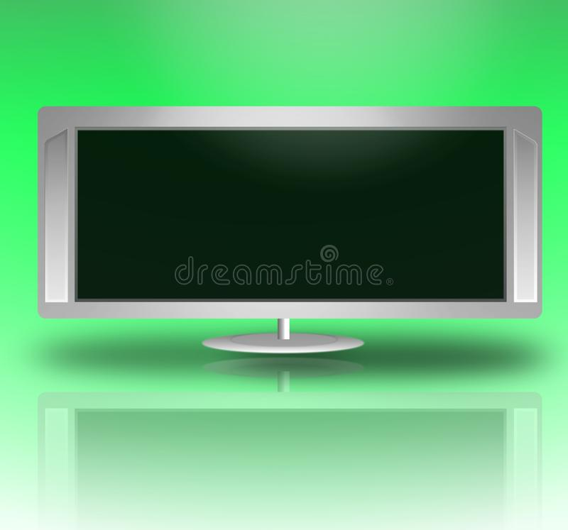 Download Widescreen television stock illustration. Image of screen - 11580003