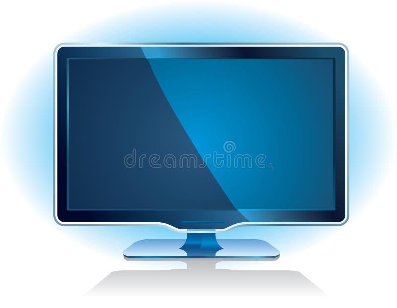 Download Widescreen tv display stock vector. Illustration of display - 12801728