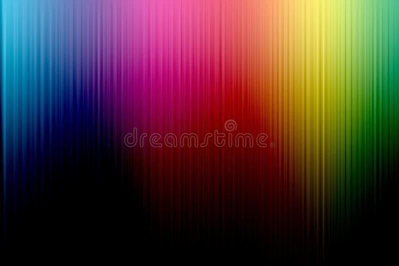 Widma kolorowy tło fotografia royalty free