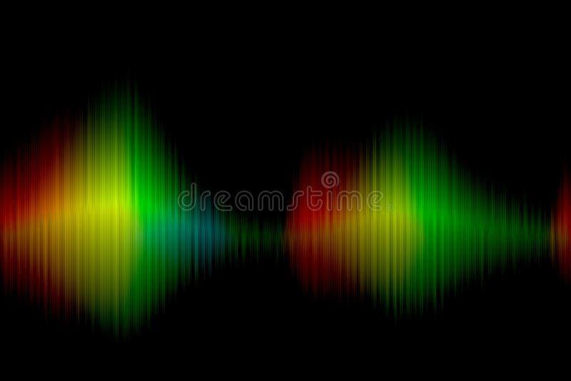 Widma kolorowy tło obraz stock